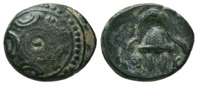 KINGDOM of MACEDON.Alexander III 'the Great',327-323 BC. Ae  Condition: Very Fine  Weight: 3,2 gram Diameter: 15,2 mm
