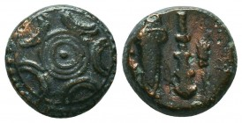 KINGDOM of MACEDON.Alexander III 'the Great',327-323 BC. Ae  Condition: Very Fine  Weight: 3,3 gram Diameter: 13,3 mm