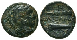 KINGDOM of MACEDON.Alexander III 'the Great',327-323 BC. Ae  Condition: Very Fine  Weight: 6,1 gram Diameter: 18,4 mm