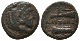 KINGDOM of MACEDON.Alexander III 'the Great',327-323 BC. Ae  Condition: Very Fine  Weight: 6,0 gram Diameter: 18,4 mm