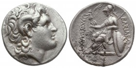 Kings of Thrace. Lysimachos (305-281 BC). AR Tetradrachm  Condition: Very Fine  Weight: 16,7 gram Diameter: 27,7 mm
