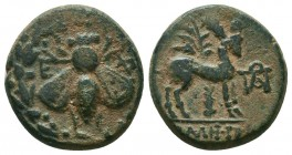 IONIA. Ephesos. Ae (Circa 202-133 BC).   Condition: Very Fine  Weight: 4,4 gram Diameter: 17,9
