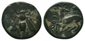 IONIA. Ephesos. Ae (Circa 202-133 BC).   Condition: Very Fine  Weight: 2,0 gram Diameter: 14,1