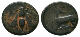 IONIA. Ephesos. Ae (Circa 202-133 BC).   Condition: Very Fine  Weight: 2,0 gram Diameter: 14,2