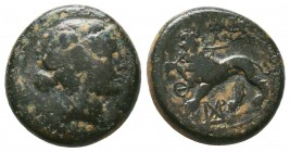 Lydia, Sardes. 2nd-1st century B.C. AE   Condition: Very Fine  Weight: 5,5 gram Diameter: 16,7
