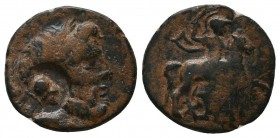 Greek Coins. Ae (Circa 202-133 BC).   Condition: Very Fine  Weight: 2,6 gram Diameter: 16,2