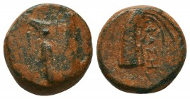 LYCIA. Phaselis. Ae (Circa 190-167 BC).  Condition: Very Fine  Weight: 4,9 gram Diameter: 14,7