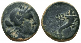 PHRYGIA. Laodiceia ad Lycum. Ae (Circa 133/88-67 BC).  Condition: Very Fine  Weight: 5,8 gram Diameter: 19,5