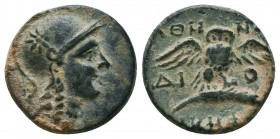 MYSIA. Pergamon. Ae (Mid-late 2nd century BC).  Condition: Very Fine  Weight: 2,6 gram Diameter: 15,5