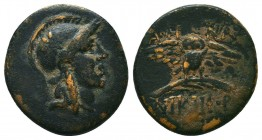MYSIA. Pergamon. Ae (Mid-late 2nd century BC).  Condition: Very Fine  Weight: 3,1 gram Diameter: 17,9