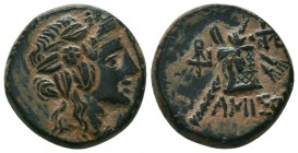 PONTOS. Amisos. Ae (Circa 120-63 BC).  Condition: Very Fine  Weight: 9,3 gram Diameter: 20,1