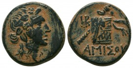 PONTOS. Amisos. Ae (Circa 120-63 BC).  Condition: Very Fine  Weight: 8,5 gram Diameter: 20,7