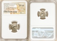 MACEDONIAN KINGDOM. Alexander III the Great (336-323 BC). AR drachm (21mm, 5h). NGC Choice VF. Lifetime issue of Sardes, ca. 334-323 BC. Head of Herac...