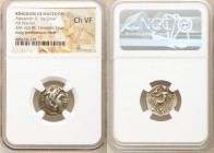 MACEDONIAN KINGDOM. Alexander III the Great (336-323 BC). AR Drachm (17mm, 1h). NGC Choice VF. Early posthumous issue of Sardes, ca. 323-319 BC. Head ...