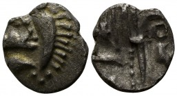 Britain. Durotriges 58 BC-43 AD. Quarter Stater AR