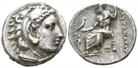 "Kings of Macedon. Abydos. Alexander III ""the Great"" 336-323 BC. Struck under Kalas or Demarchos, circa 325-323 BC.. Drachm AR"