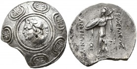 Kings of Macedon. Amphipolis. Antigonos II Gonatas 277-239 BC. Struck circa 274/1-260/55 BC. . Tetradrachm AR