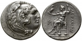 "Kings of Macedon. Miletos. Alexander III ""the Great"" 336-323 BC. Civic issue of Miletos, circa 295-270 BC. . Tetradrachm AR"
