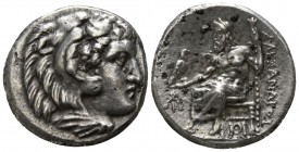 "Kings of Macedon. Sardeis. Alexander III ""the Great"" 336-323 BC. Lifetime issue, circa 334/25-323 BC.. Drachm AR"