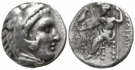 Kings of Macedon. Uncertain mint. Philip III Arrhidaeus 323-317 BC. Drachm AR