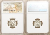 MACEDONIAN KINGDOM. Alexander III the Great (336-323 BC). AR drachm (28mm, 4.17 gm, 12h). NGC Choice AU 5/5 - 4/5. Posthumous issue of 'Colophon', 310...