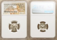 MACEDONIAN KINGDOM. Alexander III the Great (336-323 BC). AR drachm (17mm, 4.25 gm, 2h). NGC Choice AU 4/5 - 5/5. Posthumous issue of Lampsacus, ca. 3...