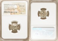 MACEDONIAN KINGDOM. Alexander III the Great (336-323 BC). AR drachm (17mm, 5h). NGC Choice VF. Posthumous issue of Magnesia, ca. 319-305 BC. Head of H...
