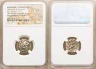 MACEDONIAN KINGDOM. Alexander III the Great (336-323 BC). AR drachm (17mm, 11h). NGC VF. Early posthumous issue of 'Colophon', ca. 322-317 BC. Head of...