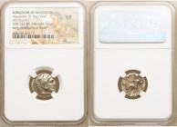 MACEDONIAN KINGDOM. Alexander III the Great (336-323 BC). AR drachm (17mm, 1h). NGC VF. Early posthumous issue of Magnesia ad Maeandrum, ca. 323-319 B...