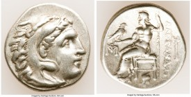 MACEDONIAN KINGDOM. Alexander III the Great (336-323 BC). AR drachm (18mm, 4.24 gm, 11h). XF. Posthumous issue of Abydus, ca. 310-301 BC. Head of Hera...