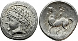 "CENTRAL EUROPE. Noricum. Tetradrachm (Circa 170-150 BC). ""Kugelreiter"" type"