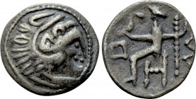 EASTERN EUROPE. Imitation of Alexander III 'the Great' of Macedon. Drachm (2nd-1st centuries BC)