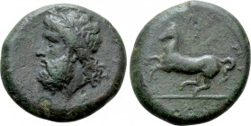 SICILY. Syracuse. Timoleon and the Third Democracy (344-317 BC). Ae Dilitron