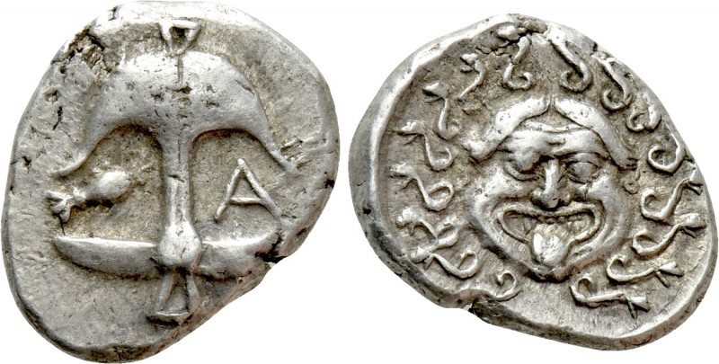 THRACE. Apollonia Pontika. Drachm (Late 5th-4th centuries BC)
