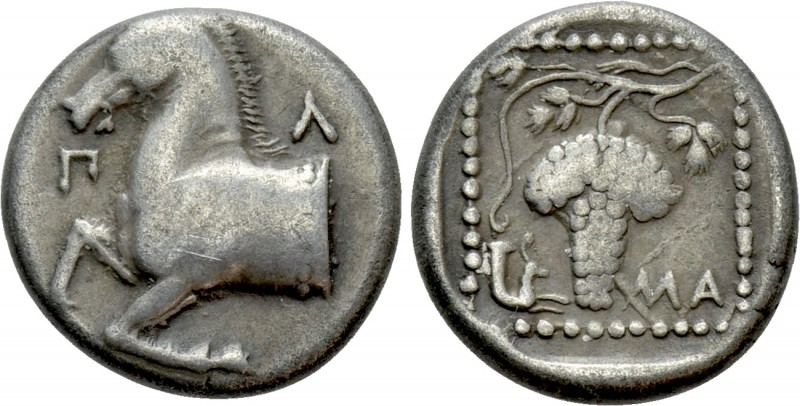 THRACE. Maroneia. Triobol (Circa 398/7-386/5 BC)