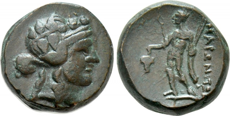 THRACE. Maroneia. Ae (Circa 168/7-48/5 BC)