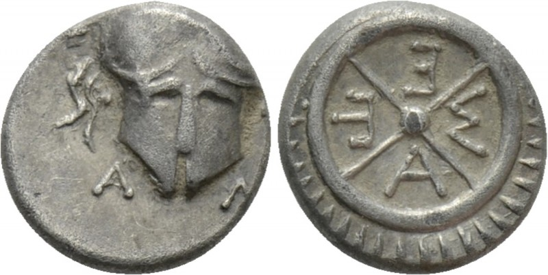 THRACE. Mesambria. Diobol (Circa 420-320 BC)