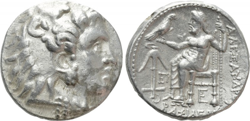SELEUKID KINGDOM. Seleukos I Nikator (312-281 BC). Tetradrachm. Uncertain mint 6...