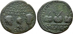 BITHYNIA. Nicaea. Valerian I with Gallienus and Valerian II (251-260). Ae