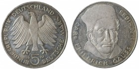 Germany. 5 mark 1977 J. AG
