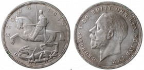 Great Britain. Giorgio V. Crown 1935 Ag 0.500 gr. 28,23 mSPL
