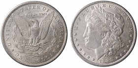 United States. Morgan Dollar 1896 Ag. mSPL