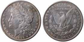 United States. Morgan Dollar 1898 Ag. qSPL