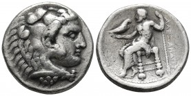 Kings of Macedonia, in the name of Alexander III the Great, 336-323 BC, posthumous issue, AR tetradrachm, Tyre Mint, dated year 35/36 of King Azemilko...