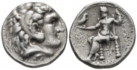 Kings of Macedonia, in the name of Alexander III the Great, 336-323 BC, posthumous issue, AR tetradrachm, Babylon Mint, ca. 317-311 BC. Head of Herakl...