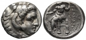 Kings of Macedonia, in the name of Alexander III the Great, 336-323 BC, posthumous issue, AR tetradrachm, Sardes Mint, ca. 318-315 BC. Head of Herakle...