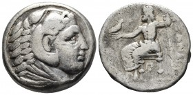 Kings of Macedonia, in the name of Alexander III the Great, 336-323 BC, posthumous issue, AR tetradrachm, Amphipolis Mint, ca. 323-317 BC. Head of Her...