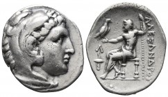 Kings of Macedonia, in the name of Alexander III the Great, 336-323 BC, posthumous issue, AR tetradrachm, Amphipolis Mint, ca. 315-294 BC. Head of Her...