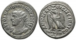 Syria, Philip I Arab 244-249 AD, AR tetradrachm , Antioch Mint, year 4, ca. 248 AD Radiate and cuirassed bust of Philip I left Eagle standing left wit...