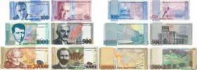 Country : ARMENIA  Face Value : 50 au 20000 Dram Lot  Date : 1998-1999  Period/Province/Bank : Central Bank of the Republic of Armenia  Catalogue refe...